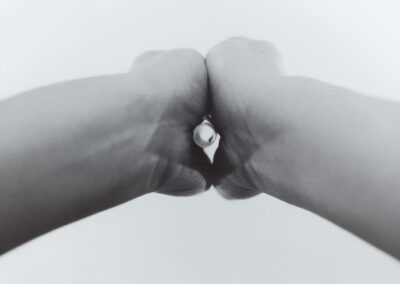 Ronja Sommer - How to act (Serie) - 2017 - Silbergelantine auf Aluminiumverbund - 30 x 40 cm