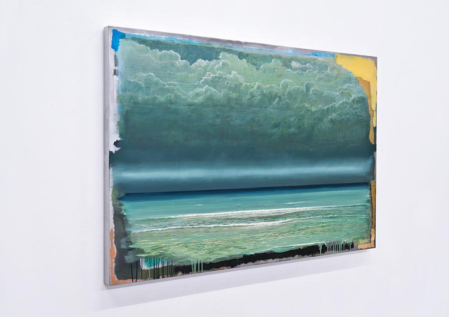 Clemens Tremmel - Die Welle (3) - 2019 - Öl auf Aluminium - 100 x 150 x 5 cm