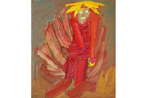 Matthias Haase - Prinz - 2019 - Öl auf Leinwand - 36 x 30 cm