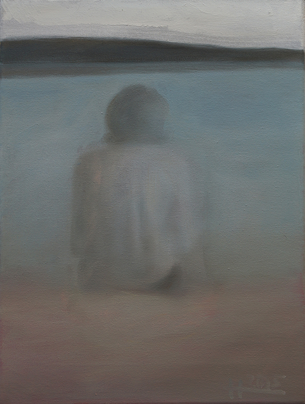 Mathias Antonio Herrmann - Am See - 2015 - Öl auf Leinwand - 40 x 30 cm