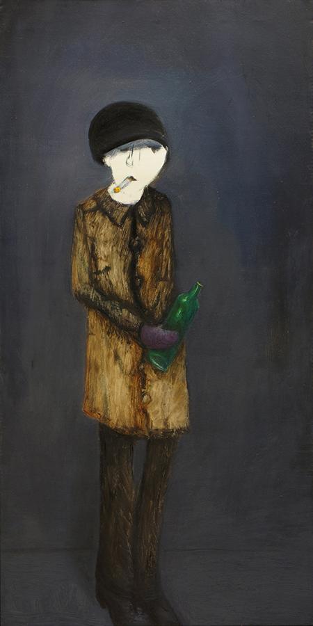 Mathias Antonio Herrmann - Tenny 2010 - 2010 - Öl auf Leinwand - 100 x 50 cm