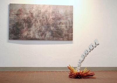 Matthias Lehmann – KRAWUMMM – 2015 – Skulptur, Holz, Lack – 40 x 40 x 20 cm