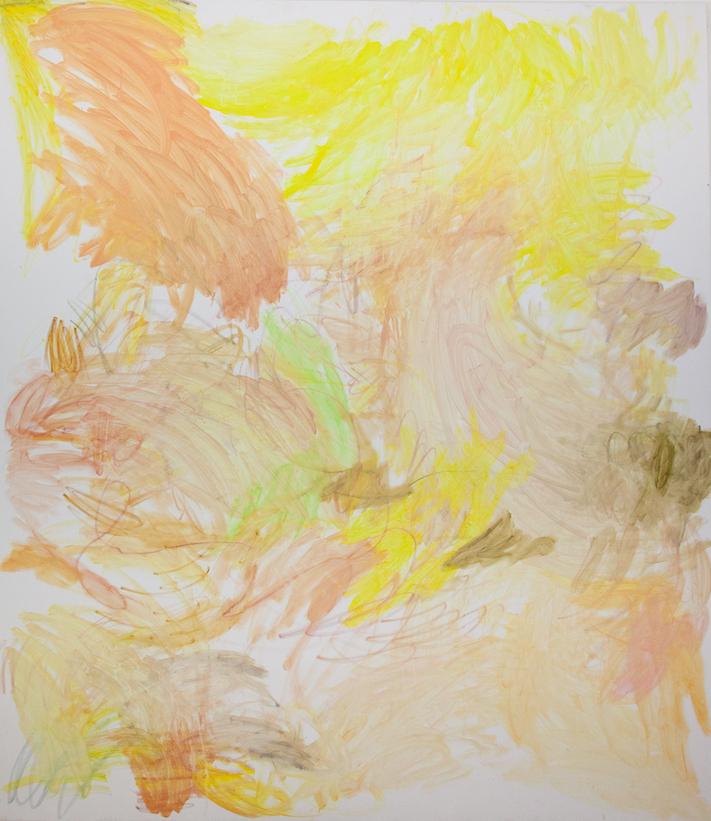 Youngmin Lee - Ohne Titel - 2019 - Öl auf Leinwand - 230 x 200 cm