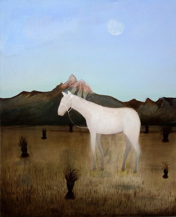 Johanna Seidel - Plateau - 2019 - Öl auf Leinwand - 120 x 100 cm