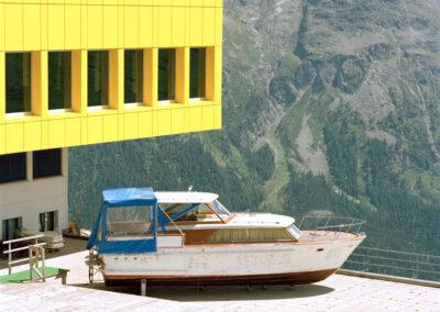 Karen Weinert – aus der Serie: Have you seen the mountains – St. Moritz/Engadin, CH, 2006 – Fine-Art-Print – je 70 x 70 cm