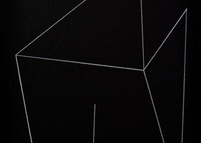 Jakob Flohe – Resonanz III – 2021 – Farbstift auf Karton – 59,4 x 42 cm