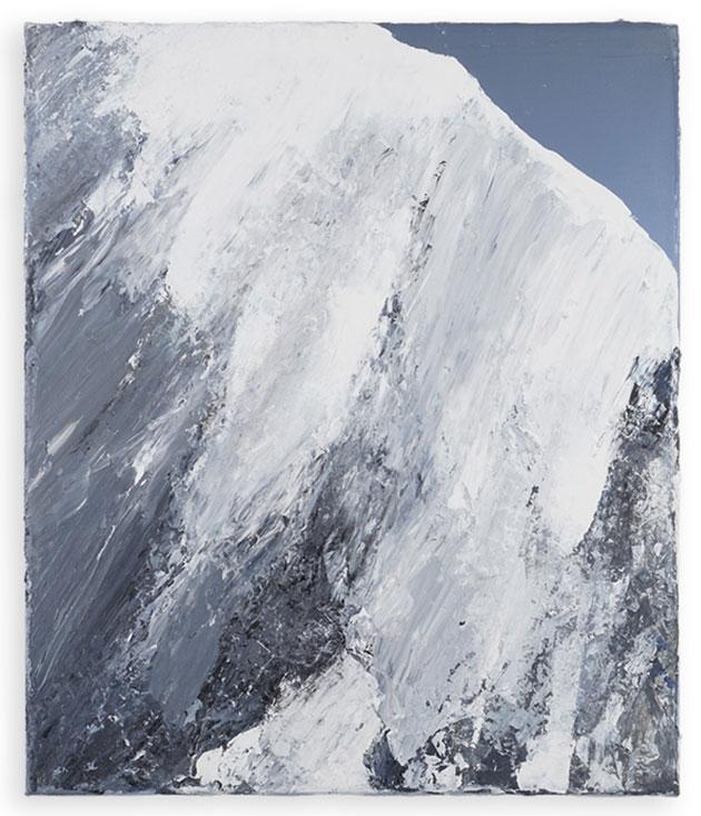 Benedikt Tammer - Intuition 2 - 2021 - Acryl auf Leinwand - 40 x 34 cm
