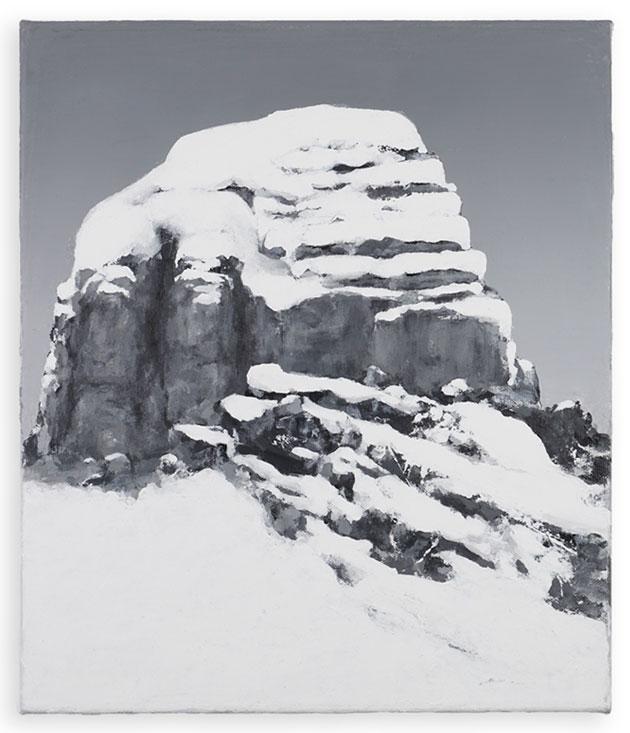 Benedikt Tammer - Intuition 3 - 2021 - Acryl auf Leinwand - 40 x 34 cm