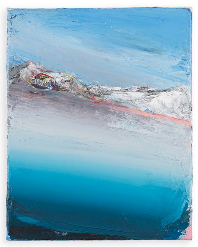 Benedikt Tammer - Intuition - 2021 - Acryl auf Leinwand - 35 x 28 cm