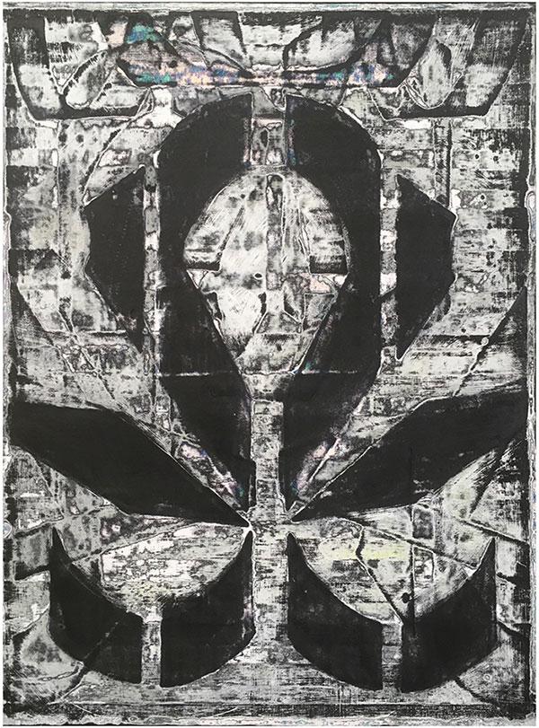 Sara Hoppe - Gimme A Sign - 2021 - Acryl auf Leinwand - 60 x 45 cm