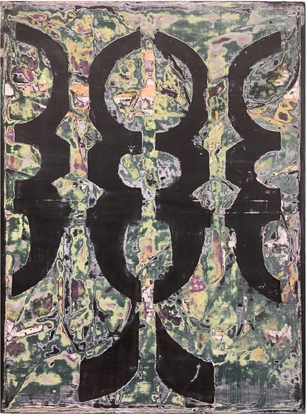 Sara Hoppe - Skarabäus - 2021 - Acryl auf Leinwand - 60 x 45 cm