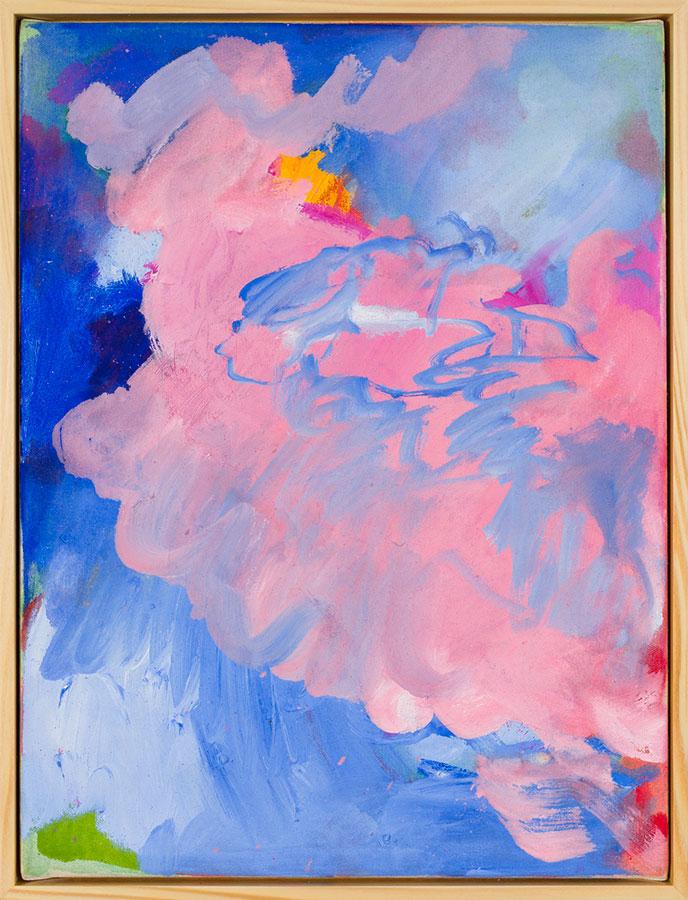 Winnie Seifert - Soft Dreaming - 2021 - Öl auf Leinwand - 41 x 31 cm