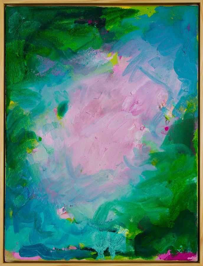 Winnie Seifert - Bathers - 2021 - Öl auf Leinwand - 41 x 31 cm