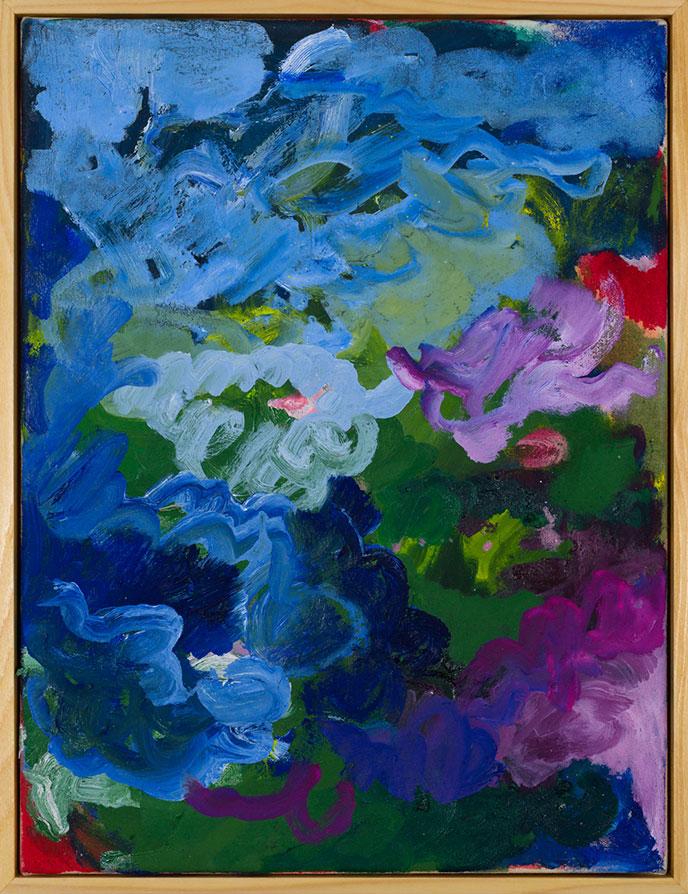Winnie Seifert - The Hunt - 2020 - Öl auf Leinwand - 41 x 31 cm